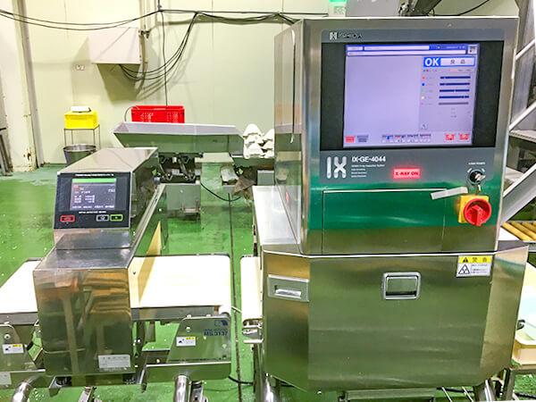 金属探知機・X線検査機